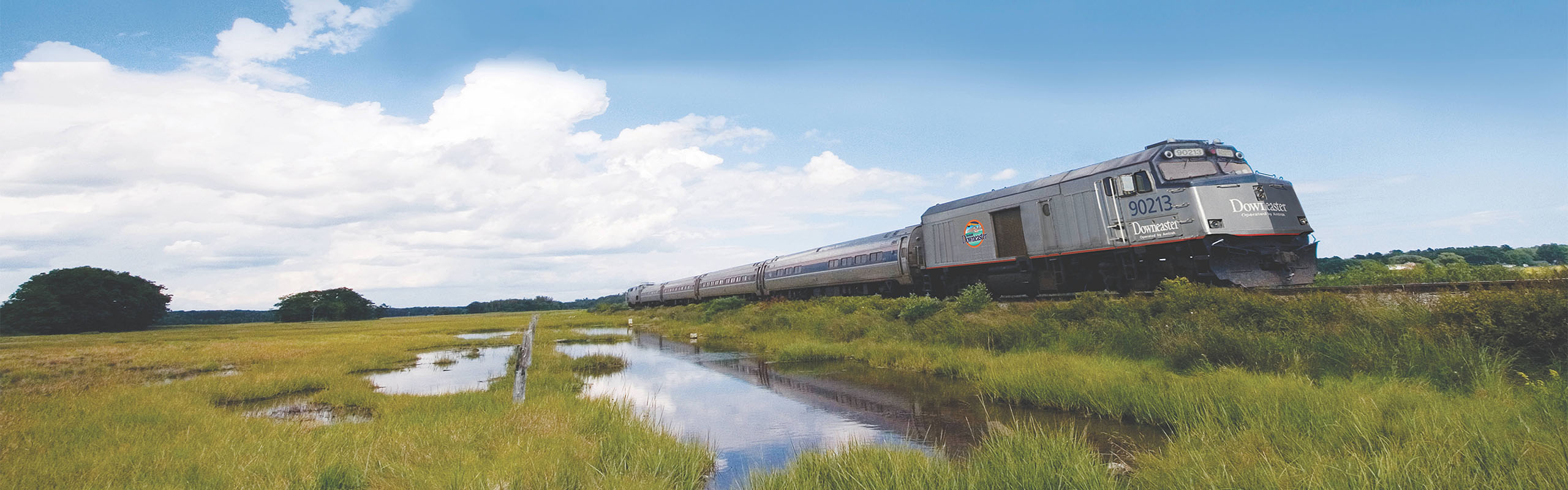 Amtrak Downeaster Spring Train