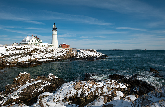 Maine Winter