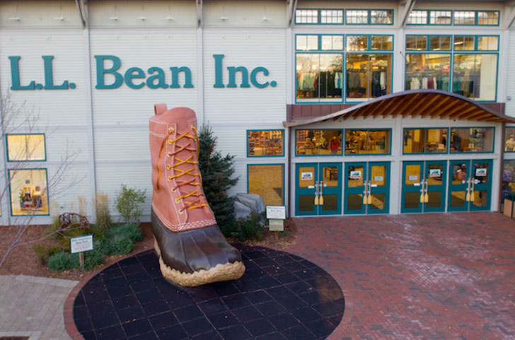 LL bean, Freeport Maine