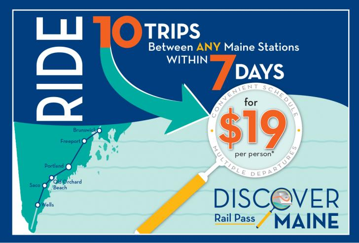 Discover Maine Graphic