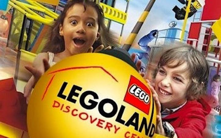 Kids having fun at LEGOLAND